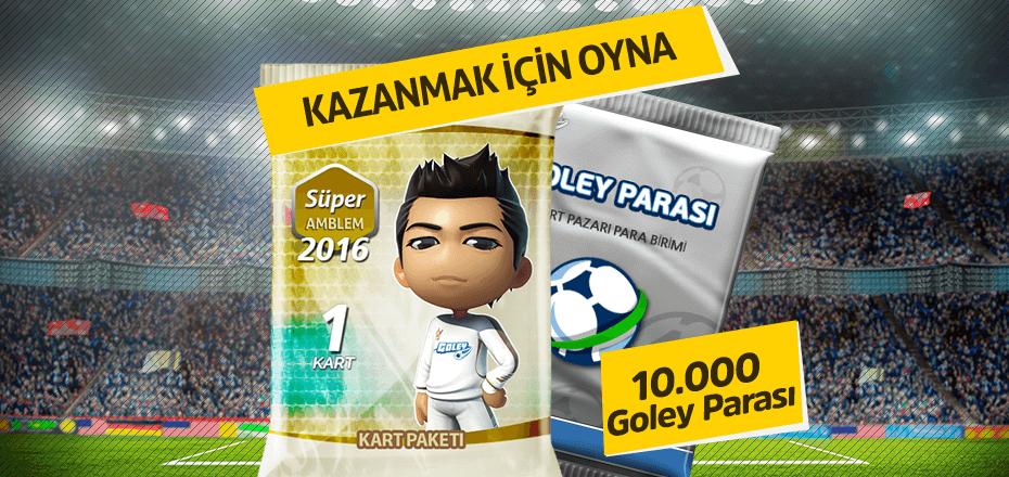 10.000 Goley Parası kazanma zamanı!